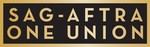 SAG-AFTRA LOGO Black and Gold