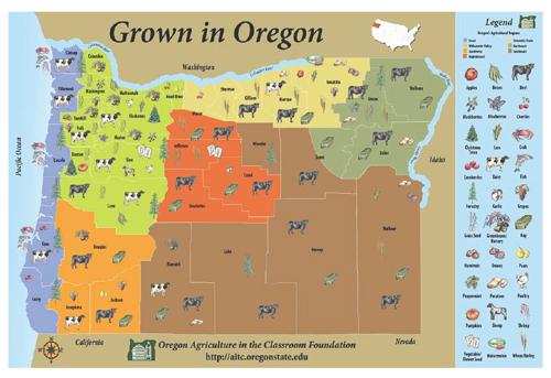 Oregon Grown Map