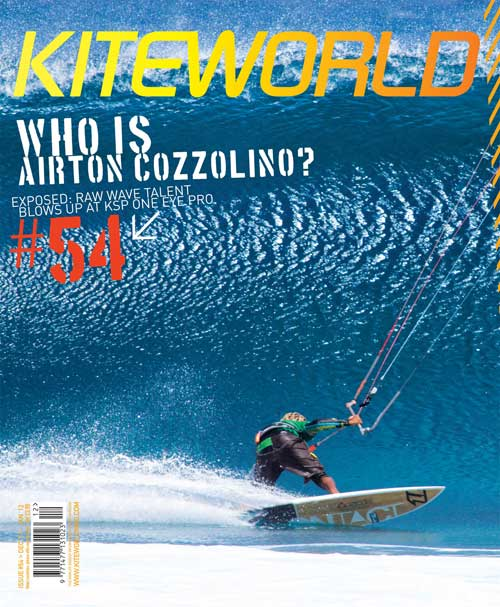 Kiteworld issue 54 cover