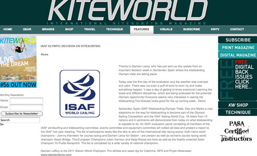 ISAF Olympic trials week