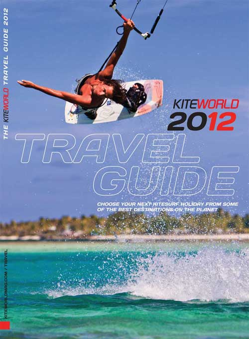 Kiteworld 2012 Travel Guide free with issue #55