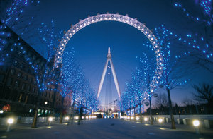 nice london eye pic