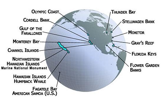 National Marine Sanctuaries