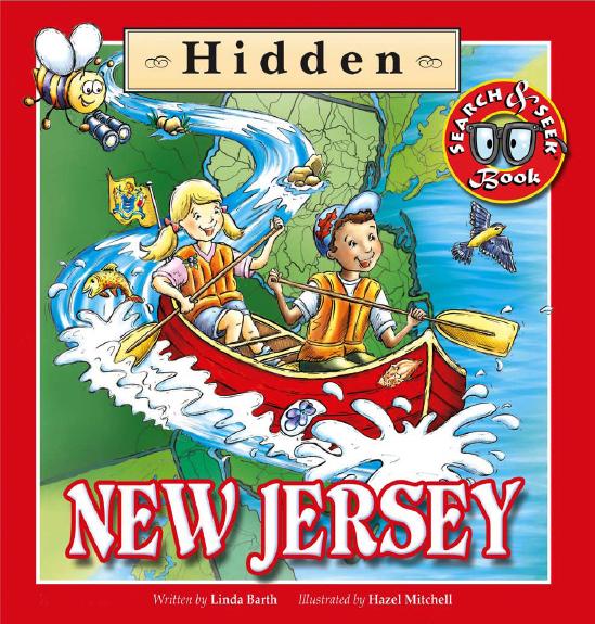 Hidden New Jersey Cover