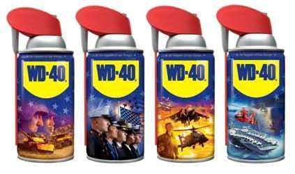 WD-40 military collectible series pic with border
