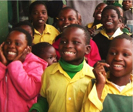 Help kids like these smiling learners at Mafunda Primary School.
