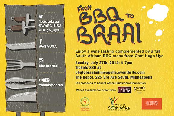 WoSA July 2014  Braai Event