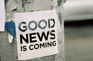 good news coming