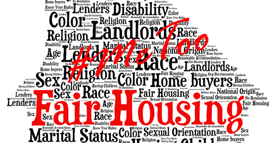 Fair Housing Word Cloud - MeToo