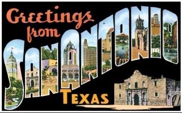 San Antonio Postcard 2