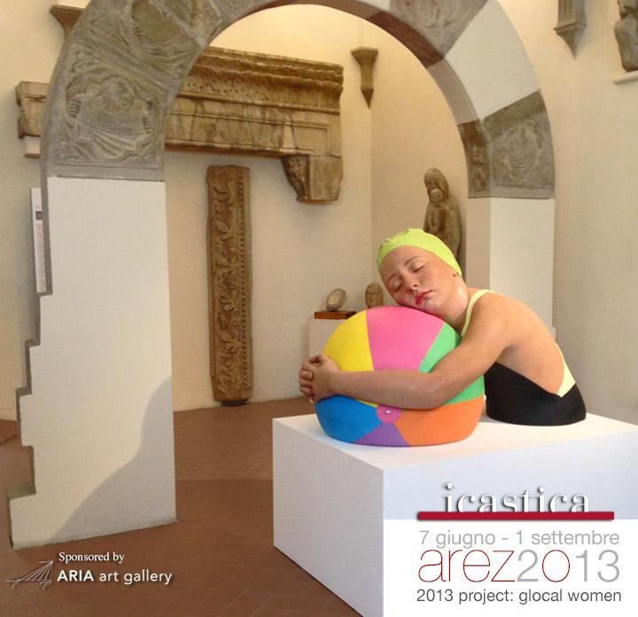 Carole Feuerman in Arezzo