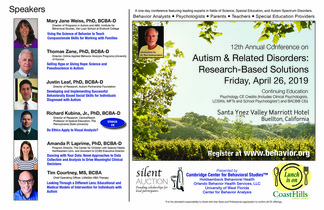 Annual Conference on Autism