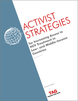 Activist Strategies for HCV Tx  sm