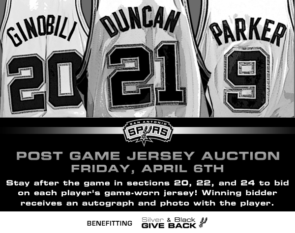 PostGameJerseyAuction for light house