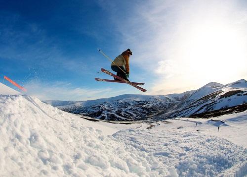 esquiar escocia