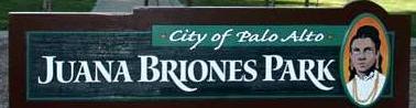 Briones Park sign