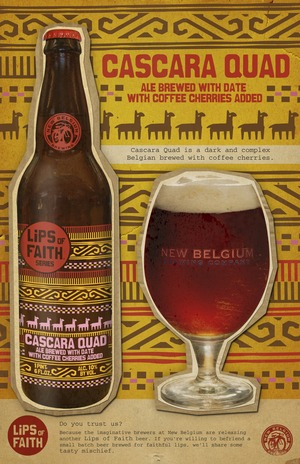 image of New Belgium Lips of Faith Series Cascara Quad sourced from the brewery
