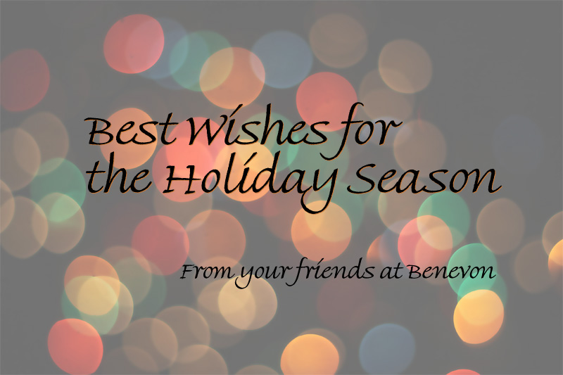 Best Wishes for the Holiday Season! From your friends at Benevon