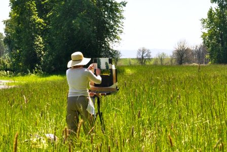 B.Boylan painting plein air
