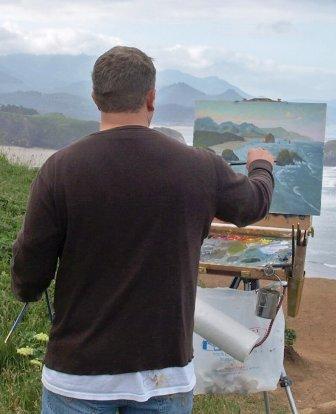 M.Orwick_painting plein air
