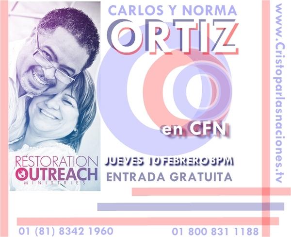 Carlos y Norma Ortiz FEB 10 B
