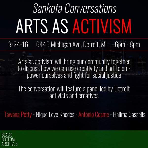 Arts as Activism