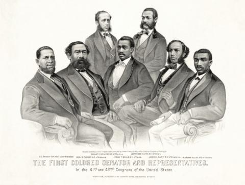 first_colored_senator_and_representatives