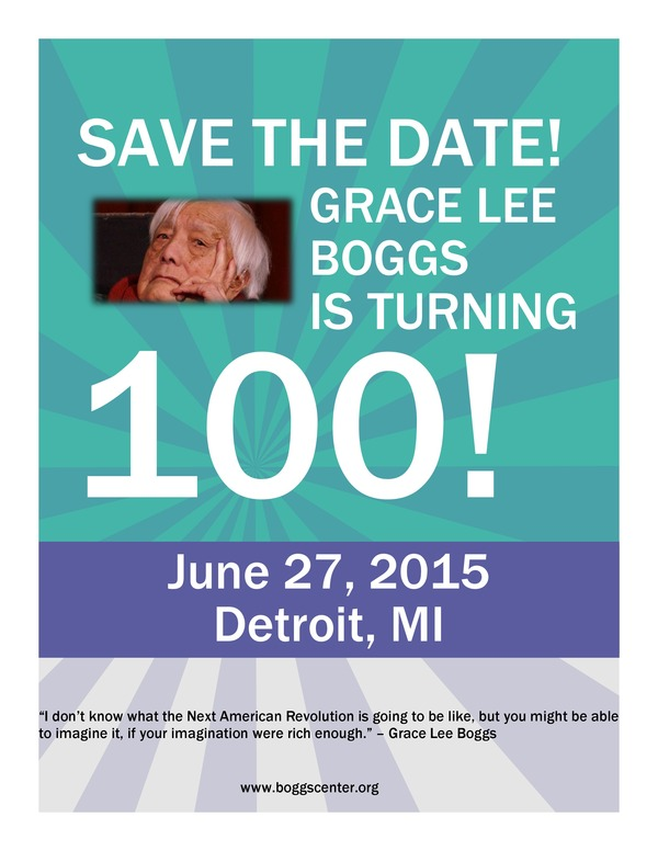 SAVE THE DATE - Grace Lee Boggs 3