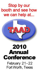 TAAD 2010 Annual Conference