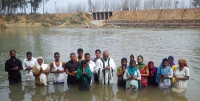 India baptism 5-14
