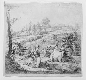 Flemish etching 1653