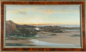 Low Tide at Sunset - Richard Harry Carter