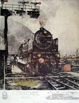 lk801 - Henschel Locomotive