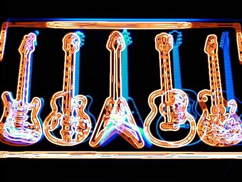 neon guitarspoi