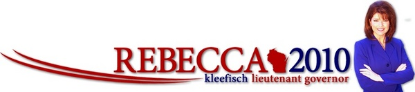 Rebecca Kleefisch Lieutenant Governor 2010