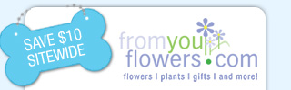 SALE! FromYouFlowers.com SAVE $10 - SHOP NOW