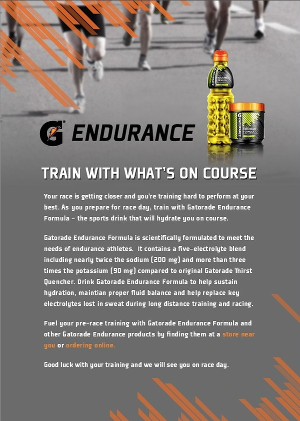Gatorade Endurance Formula