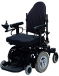 Image of a power wheelchair