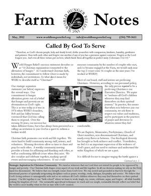 Newsletter 2012-05 2