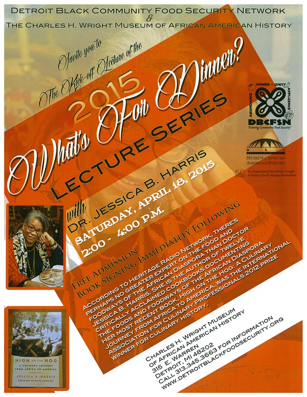 WFD Lecturer-Dr. Jessica Harris