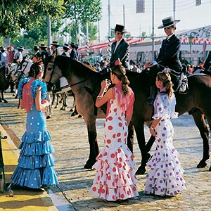April Fair, Seville