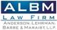 Denny Barre law firm ALBM Logo