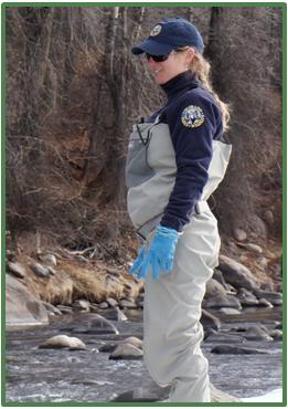 Kendall Bakich, Aquatic Biologist for Colorado Parks & Wildlife