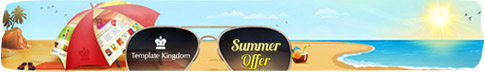 summer offer template kingdom