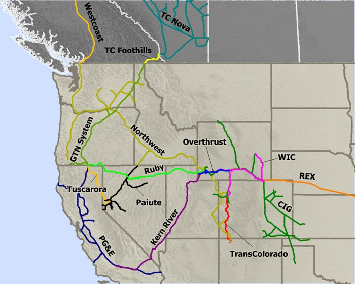 Explosion Major National Pipeline Facility Wyoming Head Space - Pipelines in us map