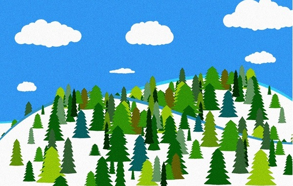 dcrforestlandscapedrawing