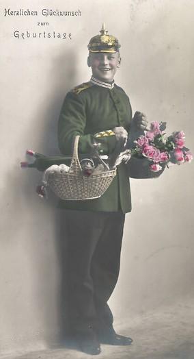 Foto-AK-Geburtstagsgruss-Soldat