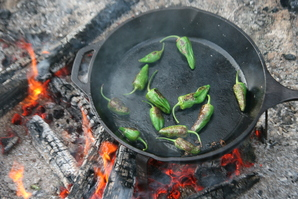 Padrons on the fire.