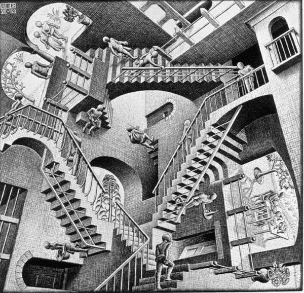 Escher Relativity 2