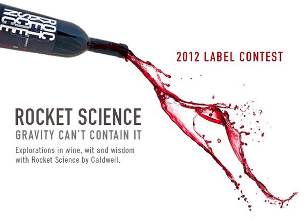 Banner Rocket Science Label Contest